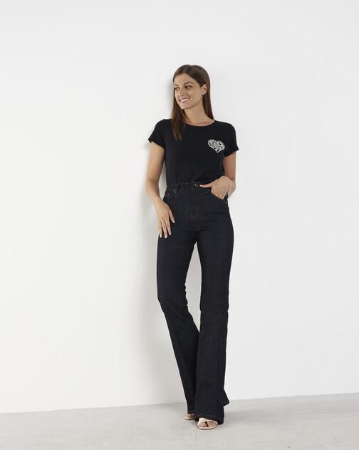 Pantalon large en denim