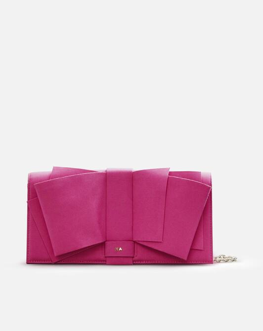 Stretch-ottoman bag - Pink