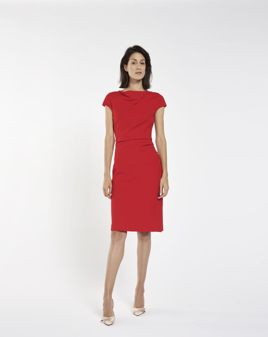 Milano dress - groseille