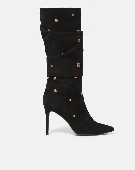 Suede boots - Noir