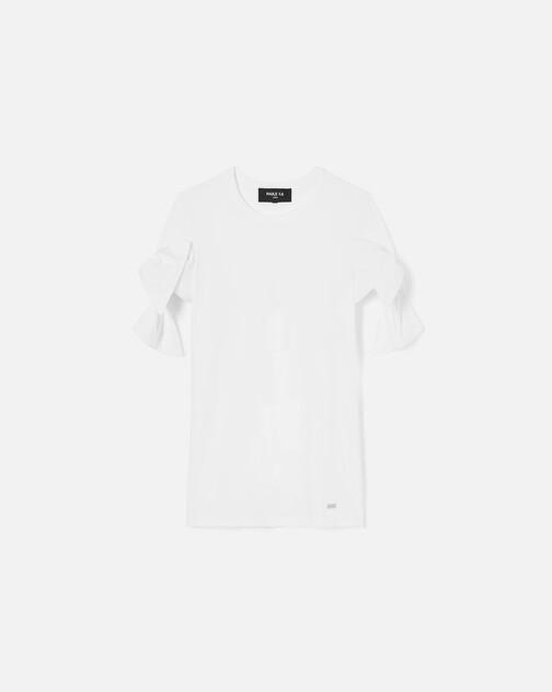 T-shirt en jersey de coton stretch
