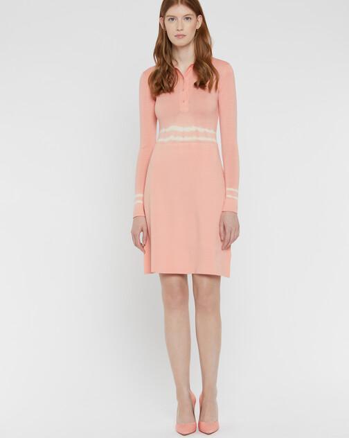 Short merino wool dress