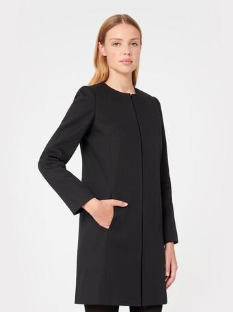 Manteau en coton - Noir