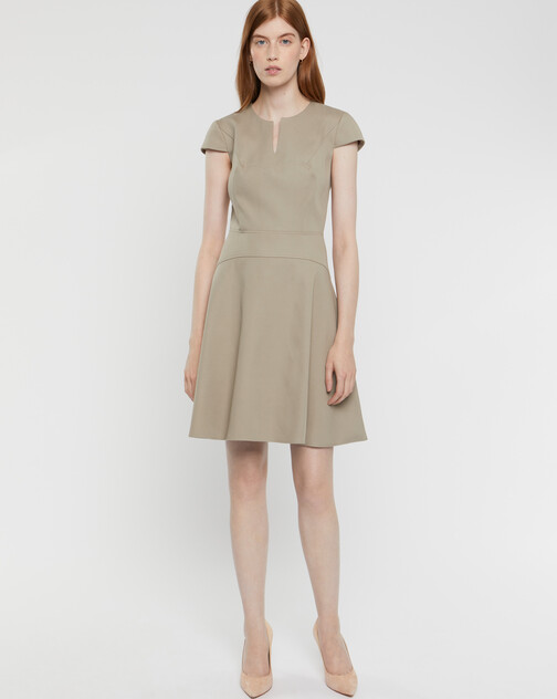 Cotton couture dress