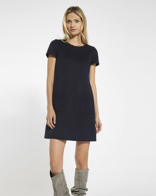Double-sided dress - Navy blue