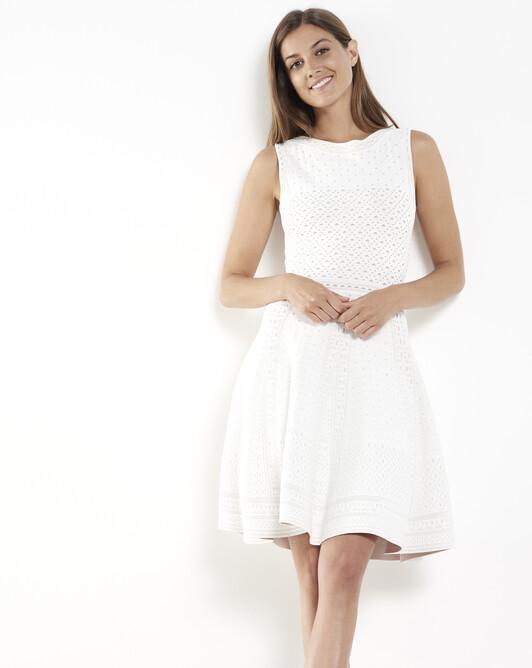 Viscose dress - White