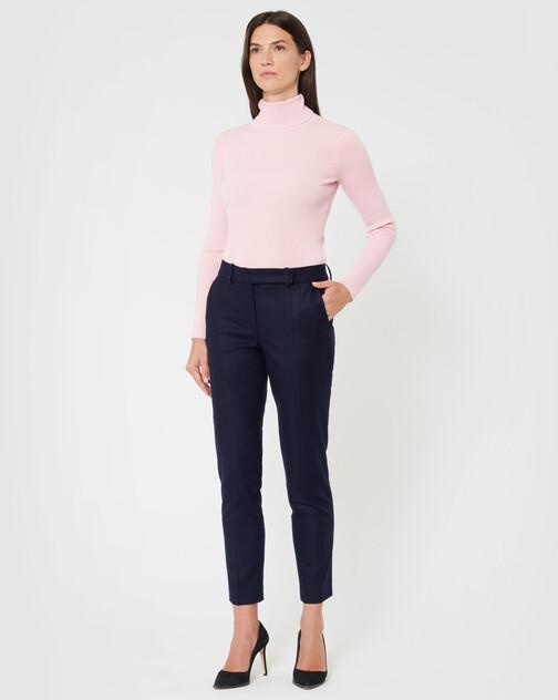 Pantalon en drap de laine