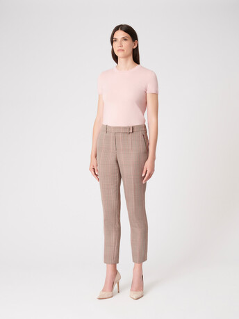 Merino wool sweater - Rose pale