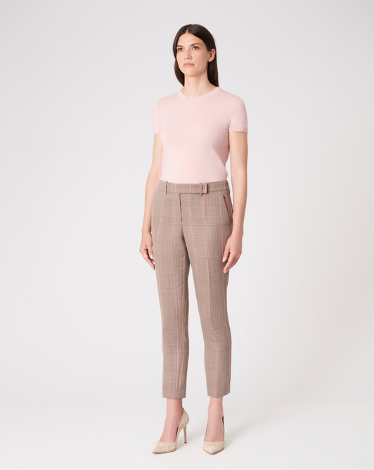 KNITTED SWEATER - Rose pale