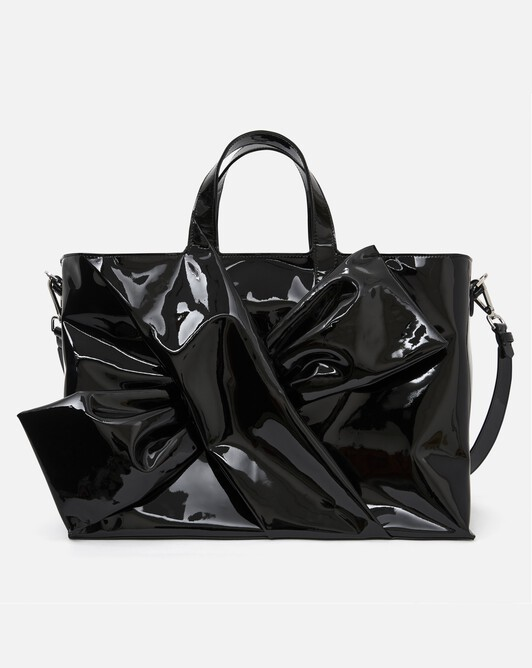 Bag in patent leather - Noir