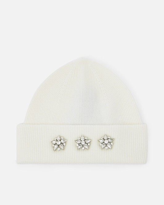 Cashmere wool beanie - Naturel