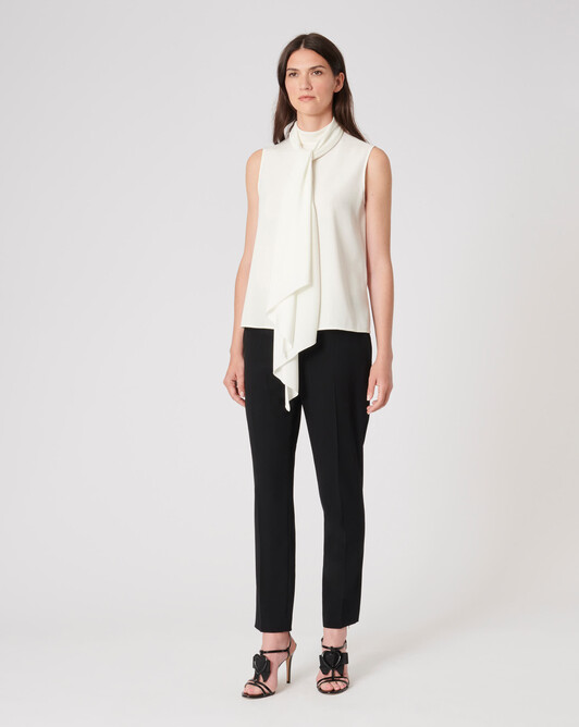 WOVEN TOP - Off white