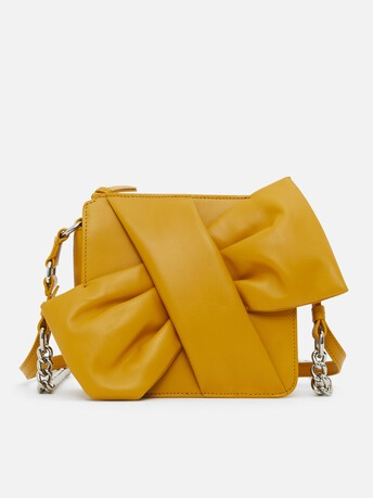 Bag in nappa leather - Bouton d'or