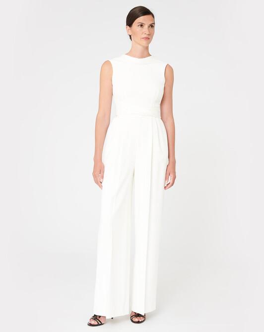 WOVEN PANTS - Off white