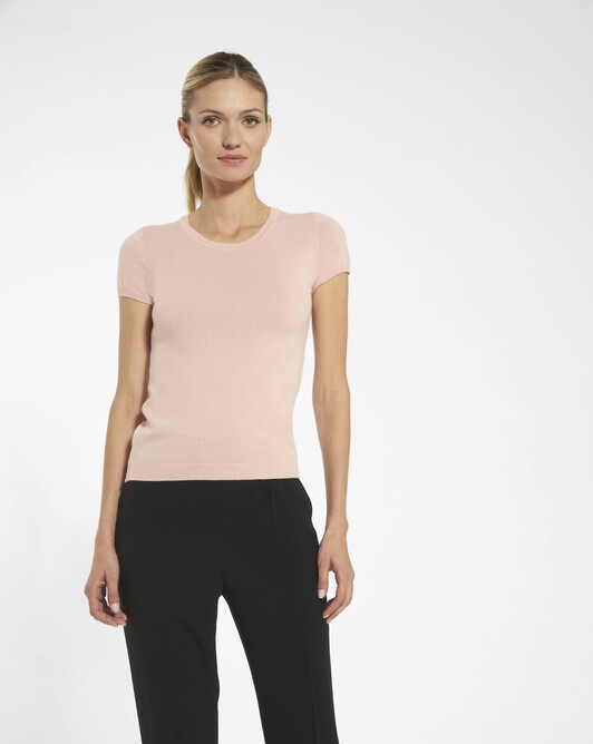 Cashmere wool sweater - Rose pale