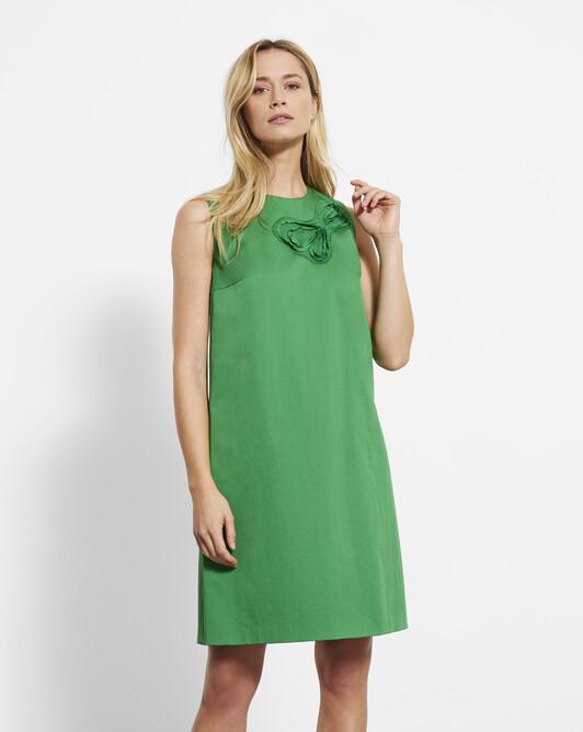 Cotton-gabardine dress - Trefle