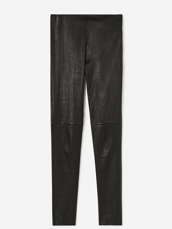 Leather pants - Noir