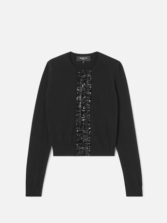 Cardigan en laine cachemire - Noir