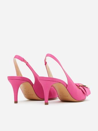 Sandales en ottoman - Pink