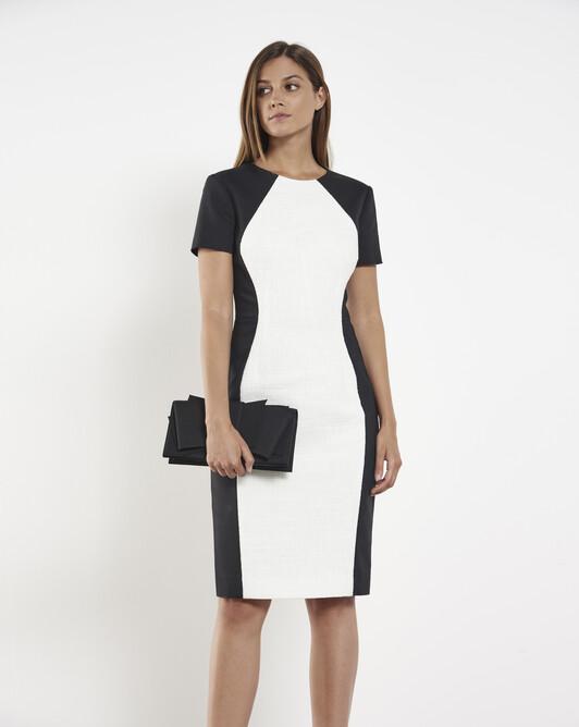 Cotton-gauze dress - White