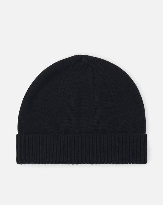 Cashmere wool beanie - Noir