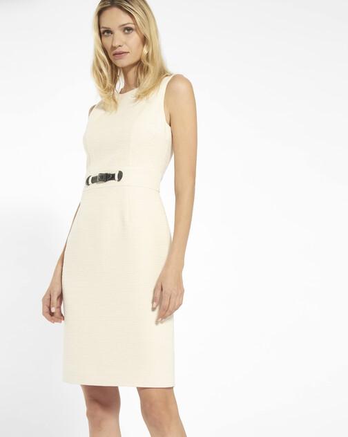 Dobby cotton dress