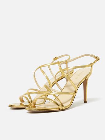 Sandales en specchio - Or