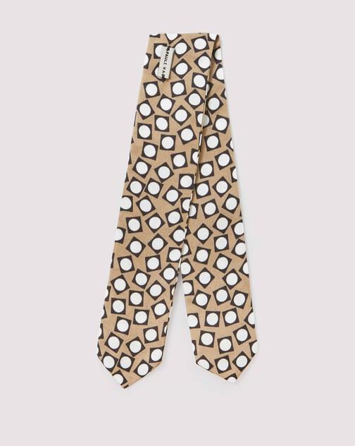 Fluid satin scarf bracelet