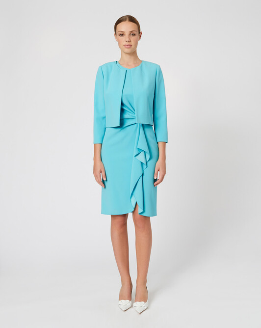WOVEN SUIT JACKET - Curacao