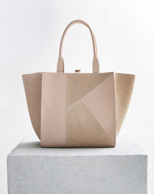 Leather bag - Nude