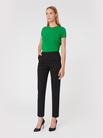 Cotton pants - Noir