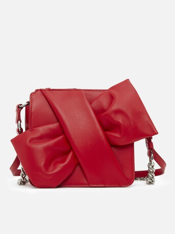 Bag in nappa leather - Rouge