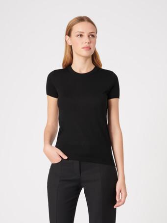 Merino wool sweater - Noir