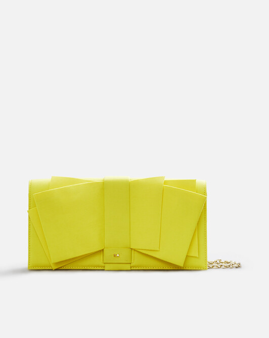 Stretch-ottoman bag - Citron
