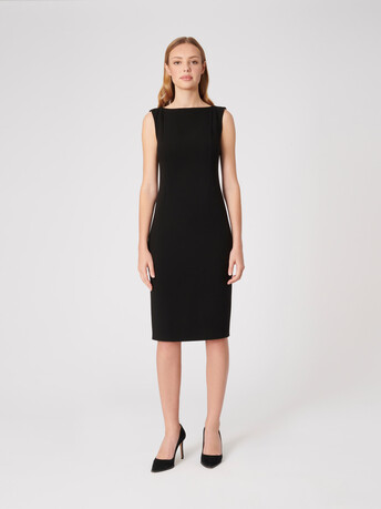 Crepe dress - Noir