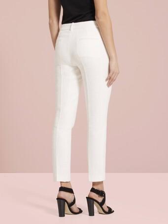 Pantalon en gaze de coton - Blanc