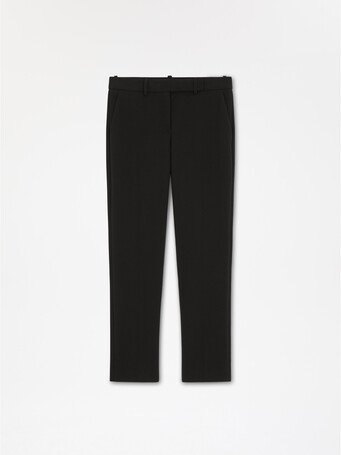 Stretch-tricotine pant - Noir