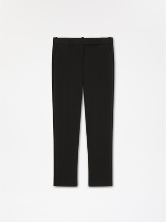Stretch-tricotine pant - Noir