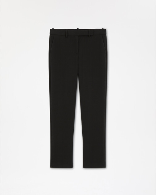 Stretch-tricotine pant