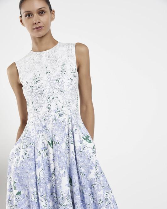 Poplin dress - Glycine