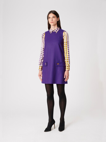 Wool dress - Amethyste