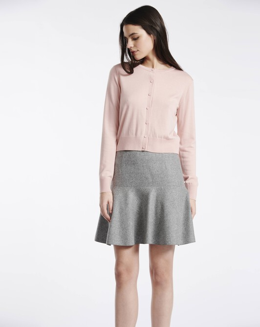 Wool skirt - Souris