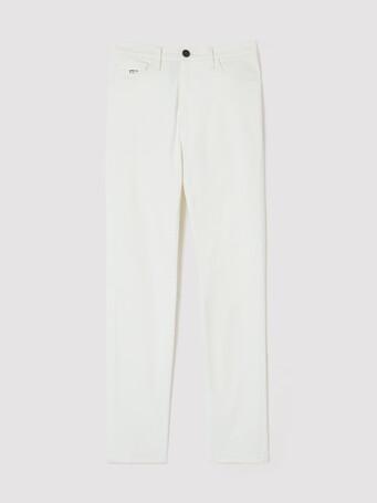 WOVEN PANTS - White