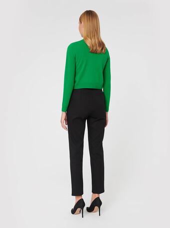 Wool and cashmere cardigan - Emeraude
