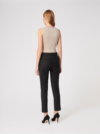 Silk and cotton tank top - Sand