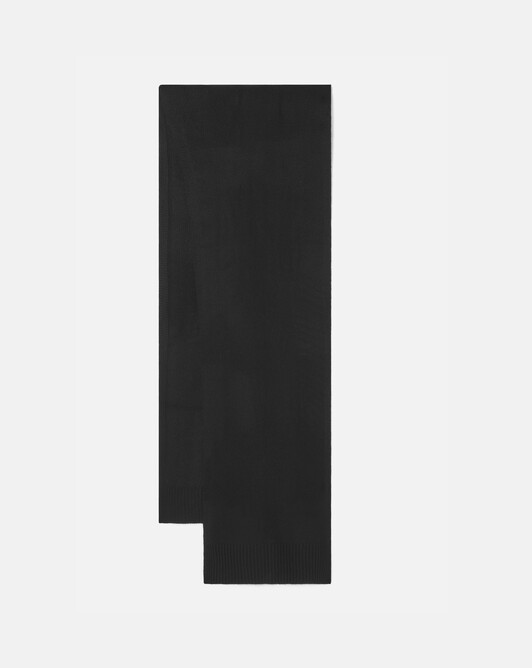 Cashmere wool scarf - Noir