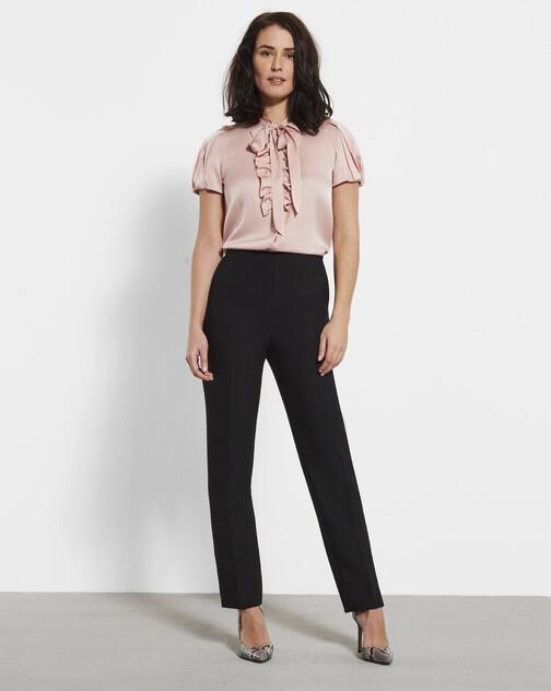 Pantalon en tricotine stretch