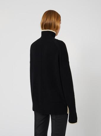 Wool sweater - Noir