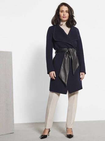 Double-sided coat - Navy blue