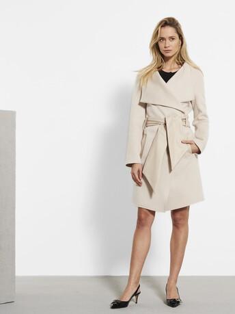 Double-sided coat - Mastic